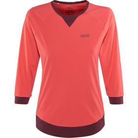GORE WEAR C5 All Mountain 3/4 Jersey Women hibiscus pink/chestnut red